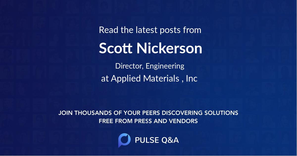 Scott Nickerson