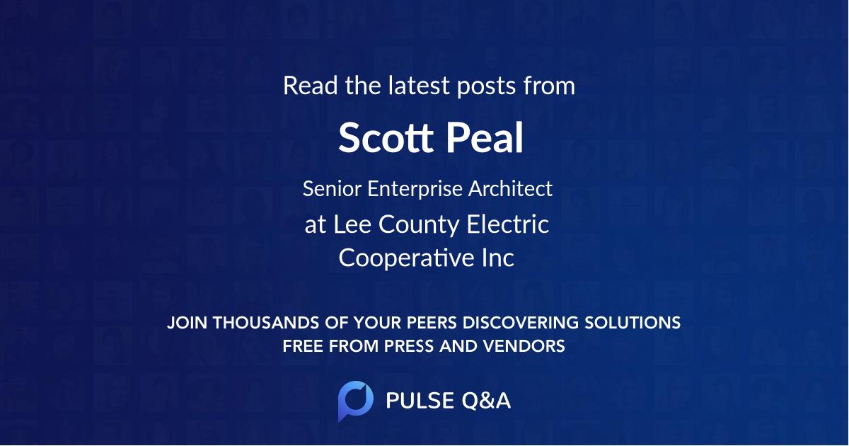 Scott Peal