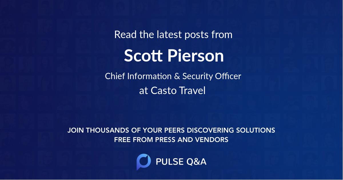 Scott Pierson