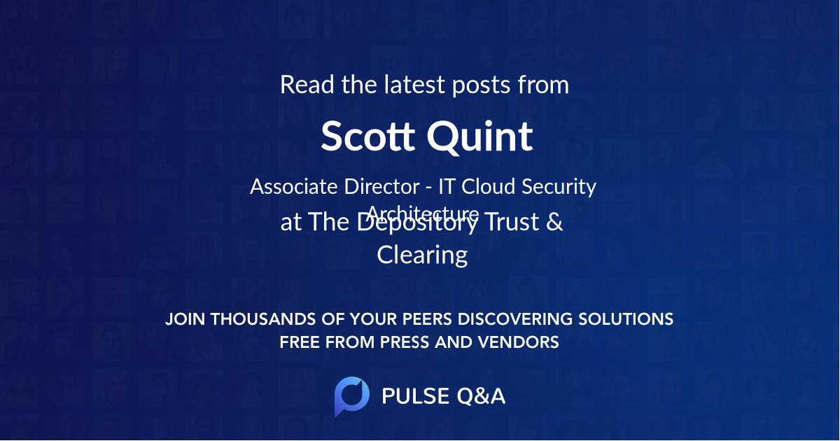 Scott Quint