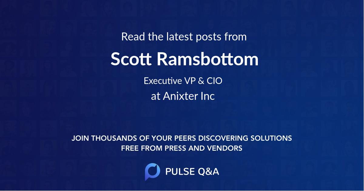 Scott Ramsbottom