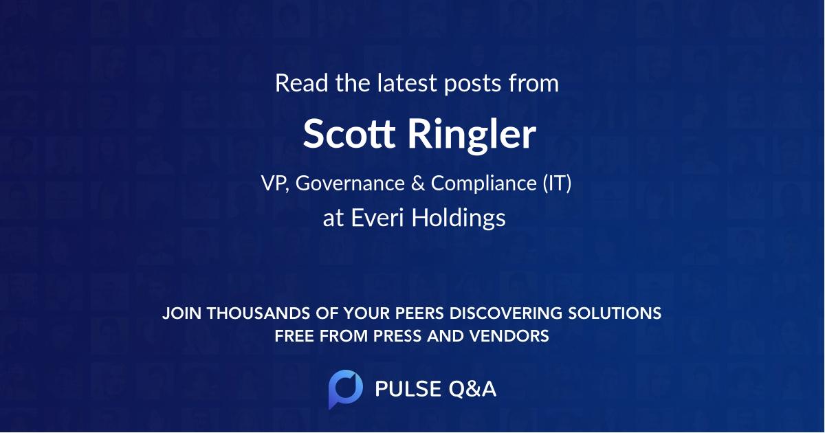 Scott Ringler