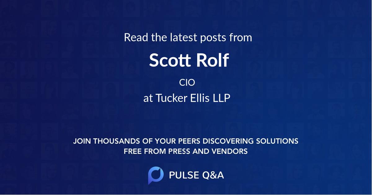 Scott Rolf