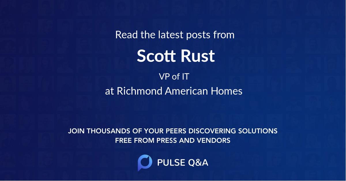 Scott Rust