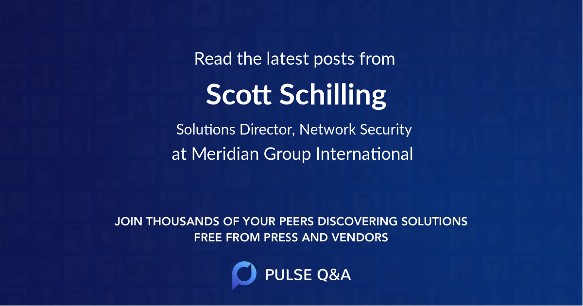 Scott Schilling
