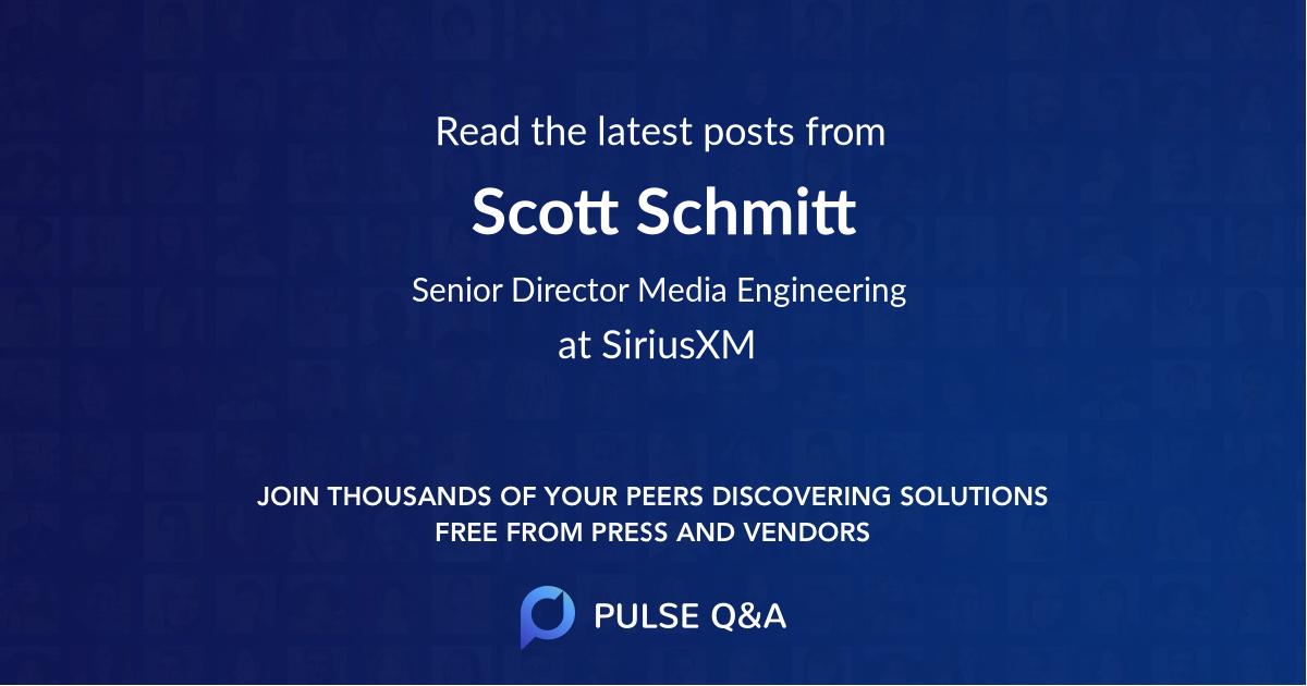 Scott Schmitt