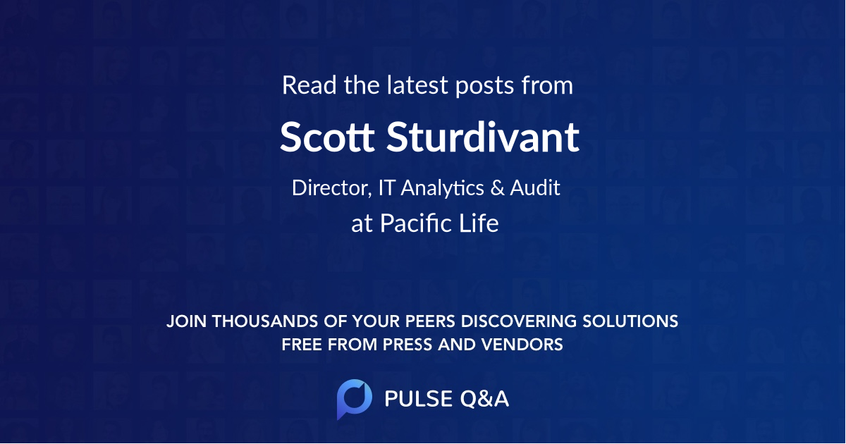 Scott Sturdivant