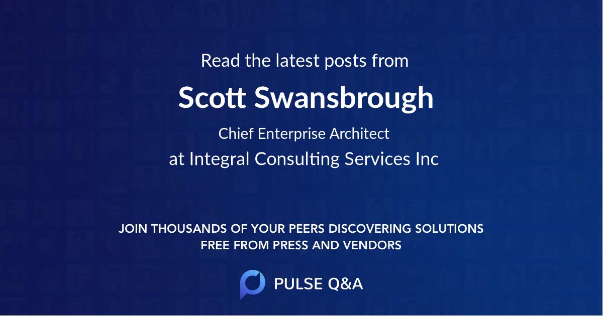 Scott Swansbrough