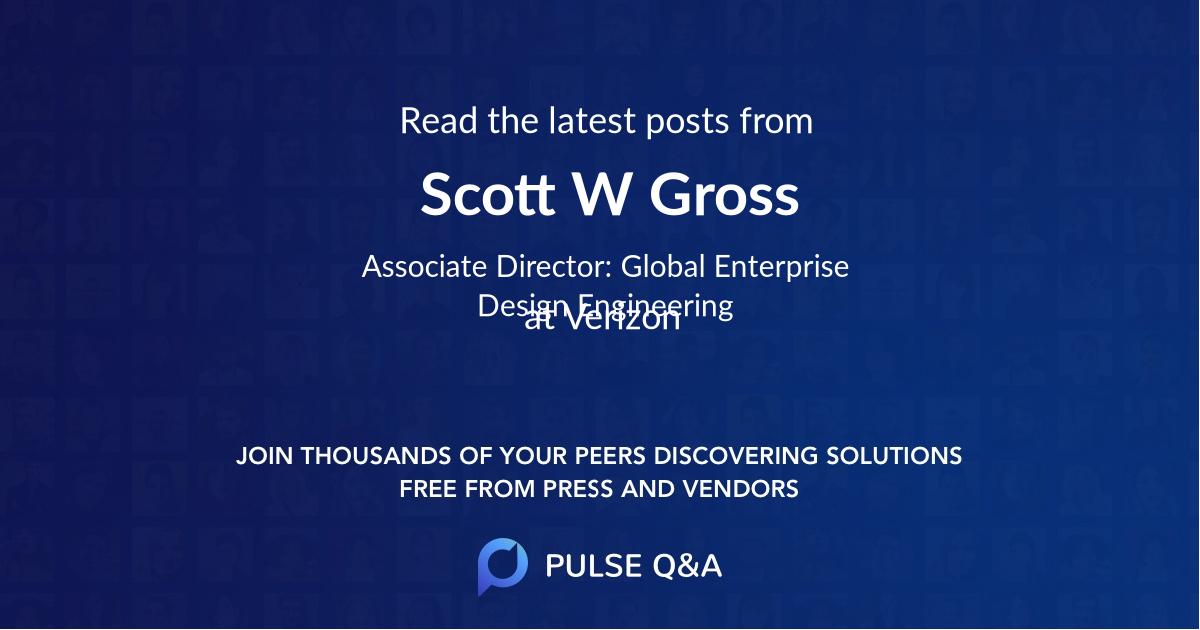 Scott W. Gross