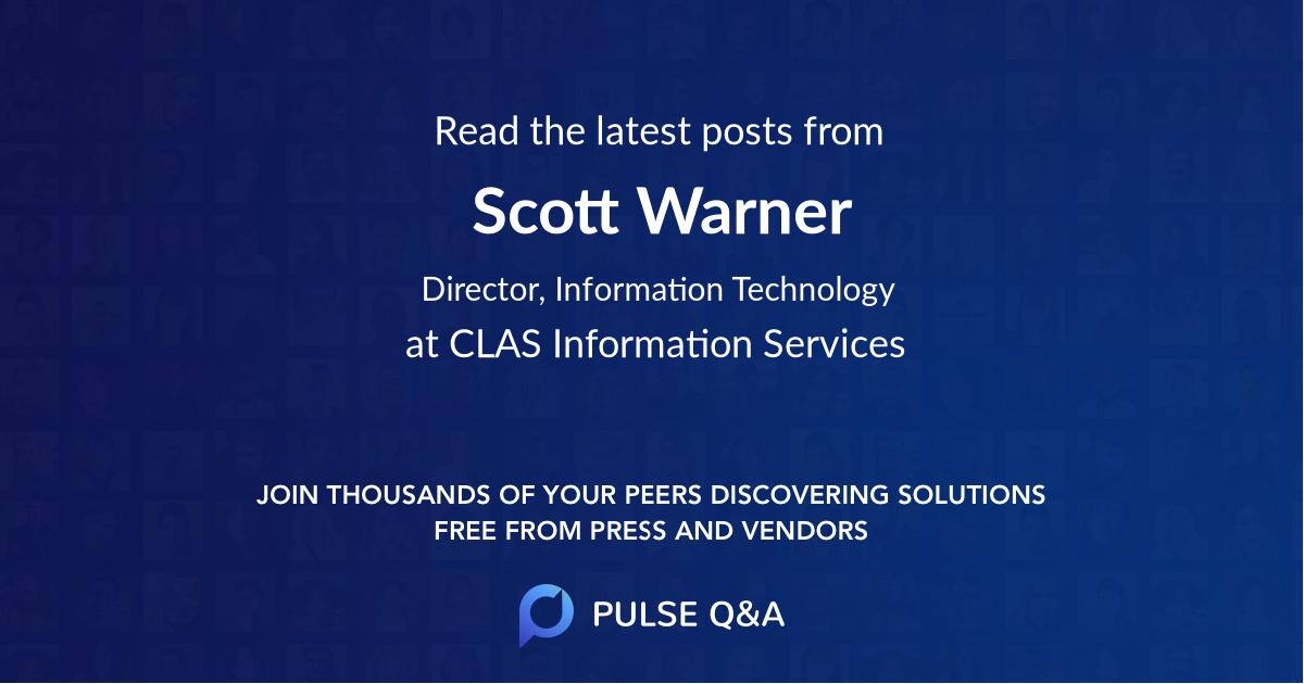 Scott Warner