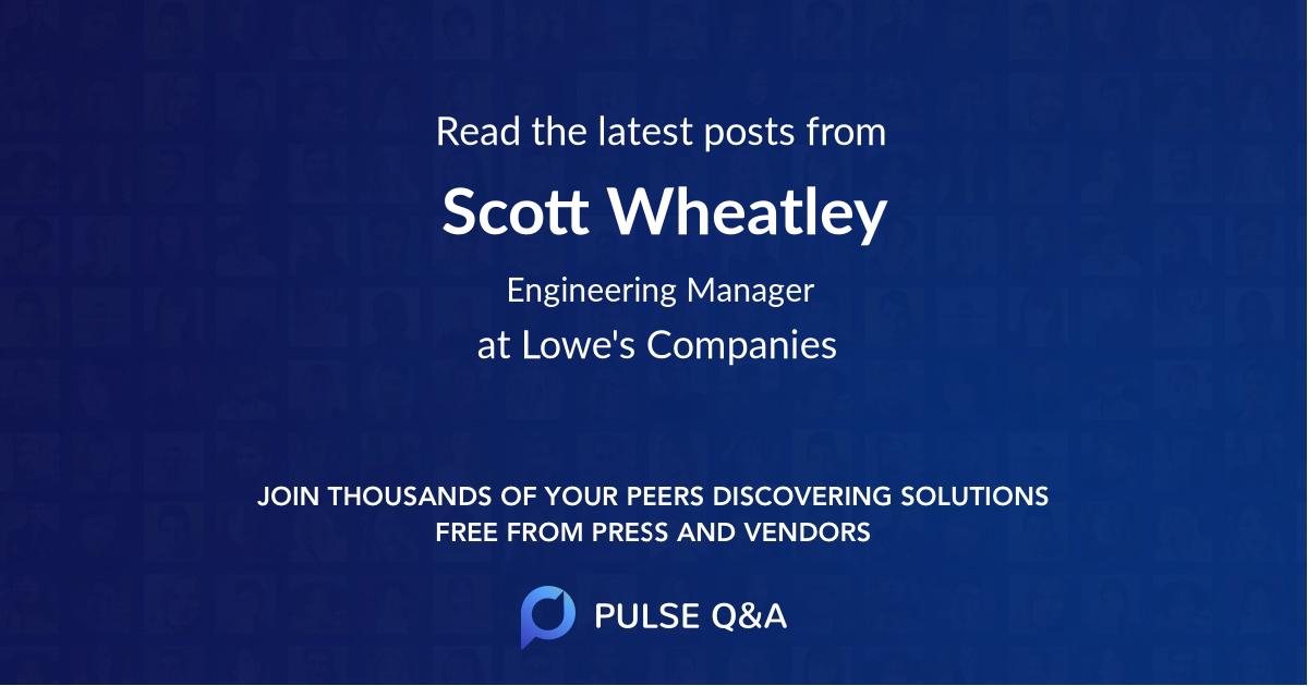 Scott Wheatley