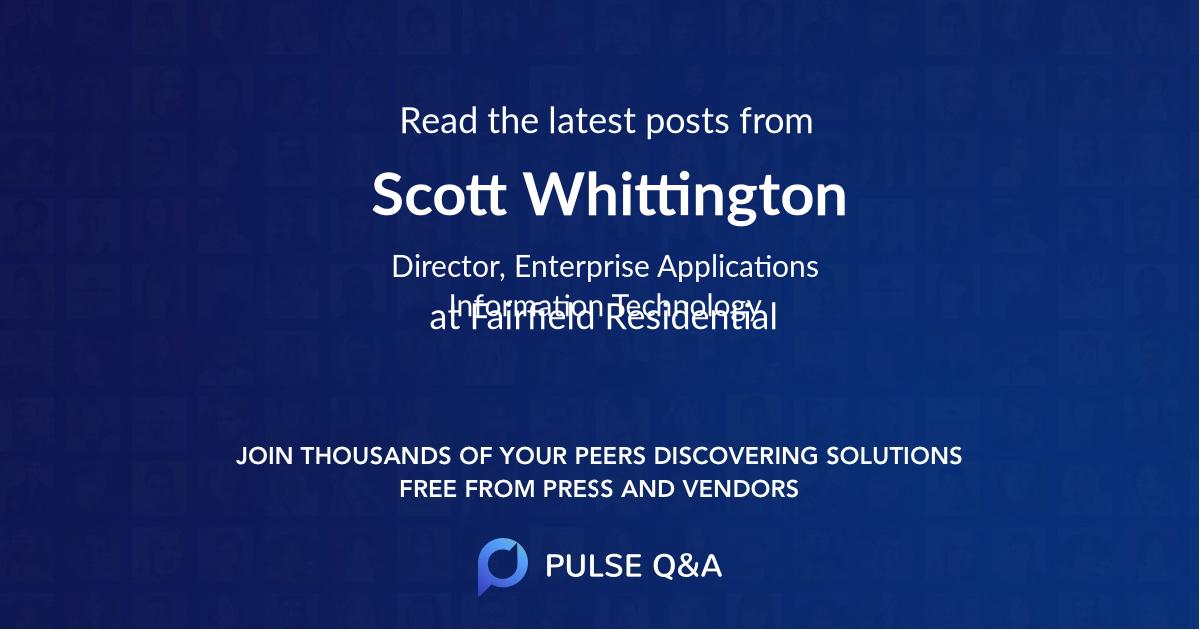 Scott Whittington