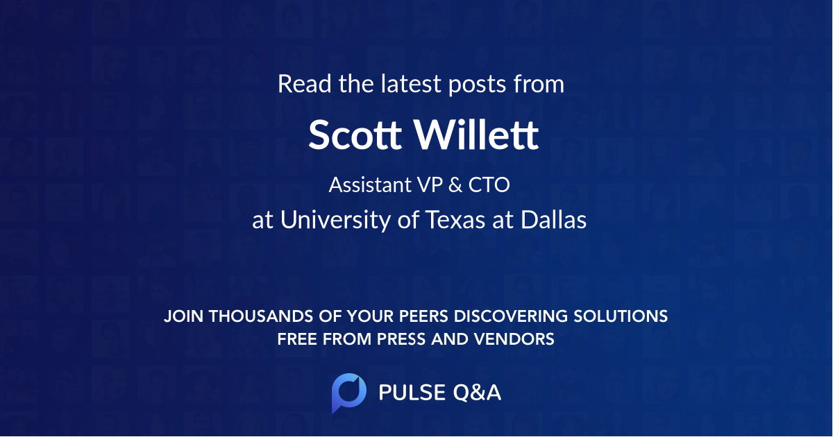 Scott Willett