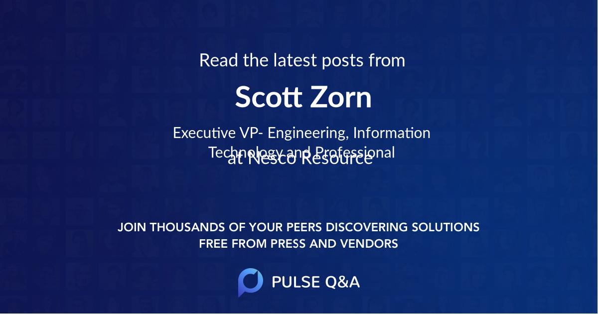 Scott Zorn