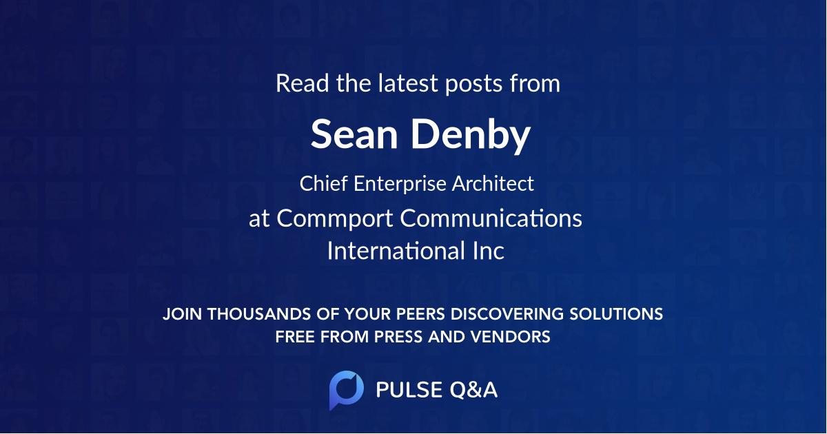 Sean Denby