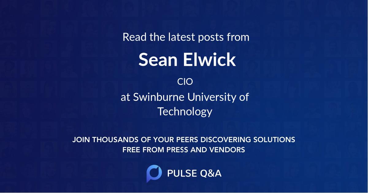Sean Elwick