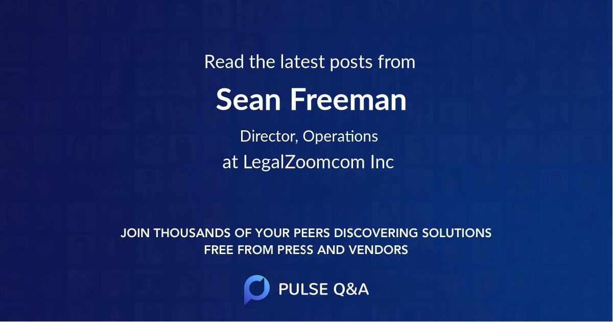 Sean Freeman