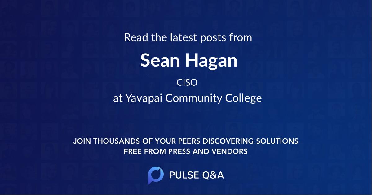 Sean Hagan