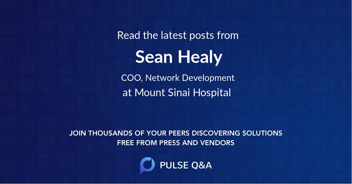 Sean Healy