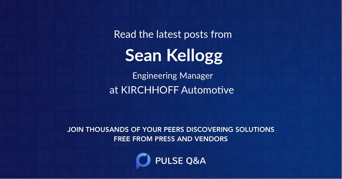 Sean Kellogg