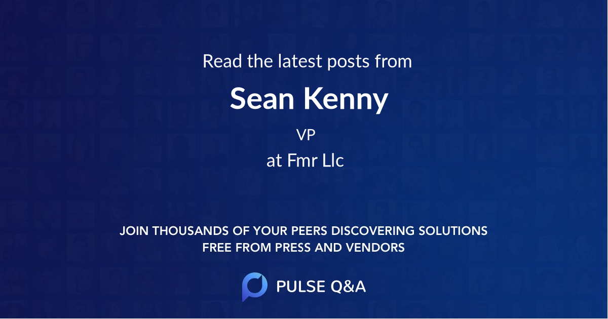 Sean Kenny