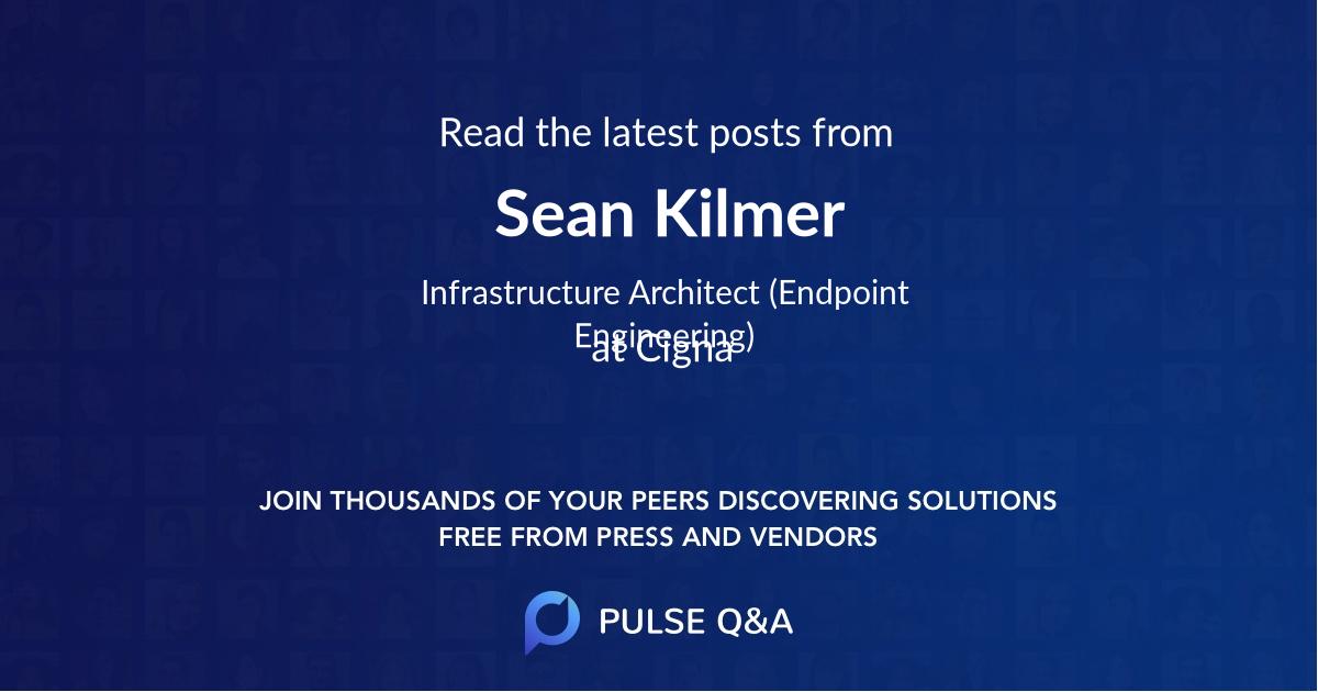 Sean Kilmer