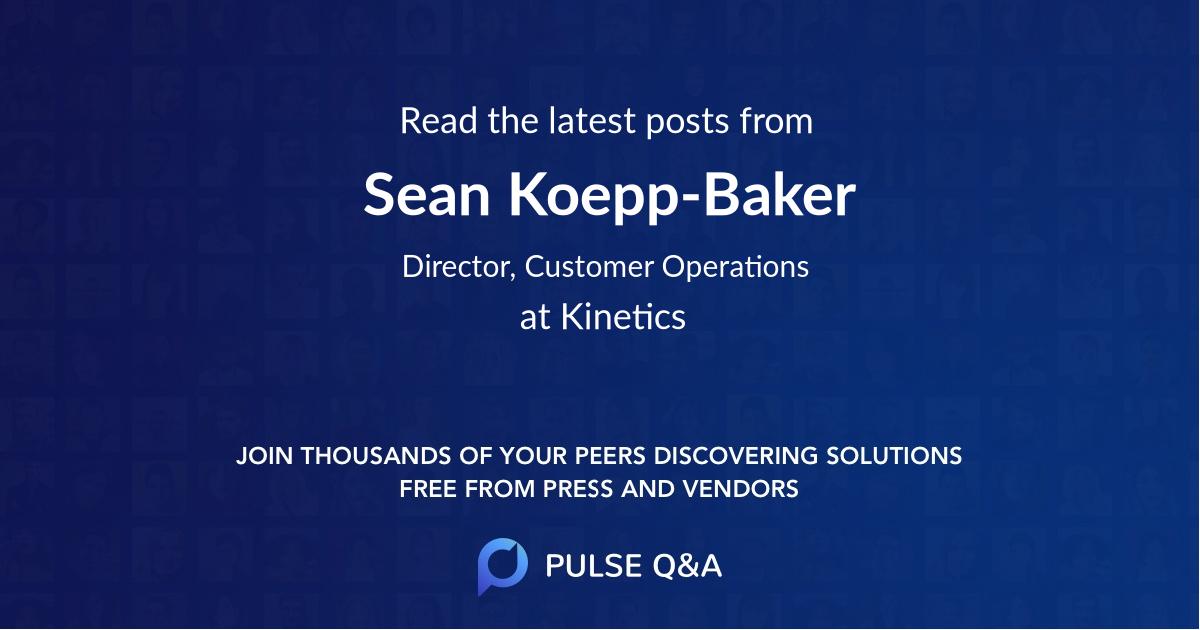 Sean Koepp-Baker