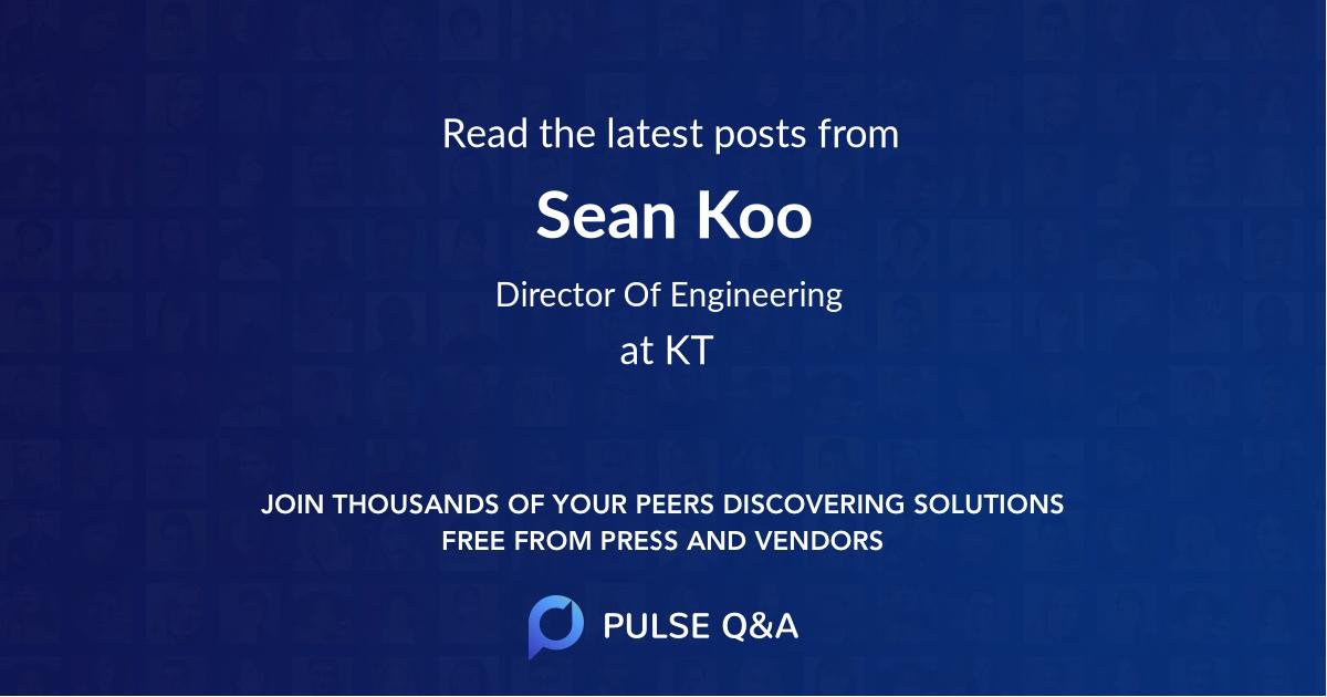 Sean Koo