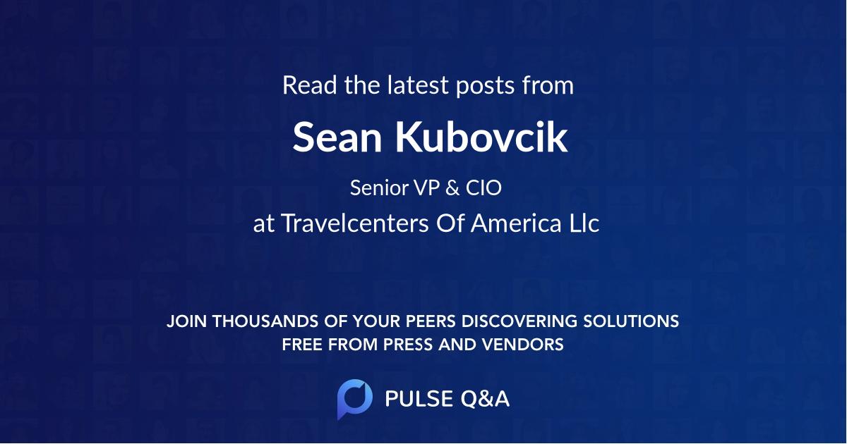 Sean Kubovcik