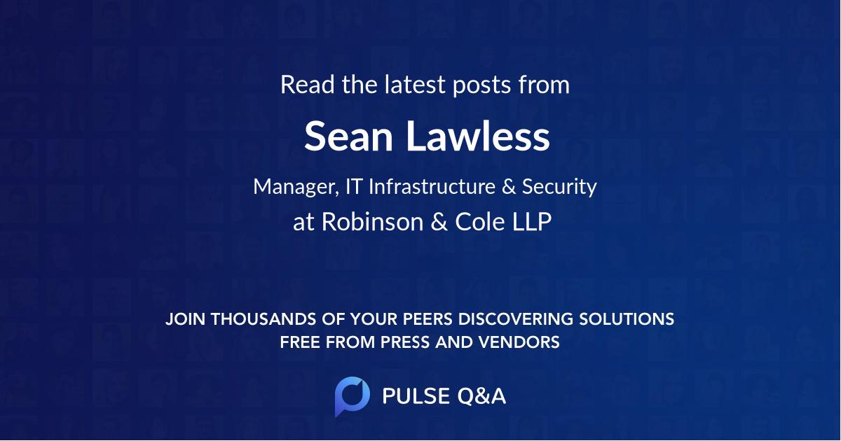 Sean Lawless