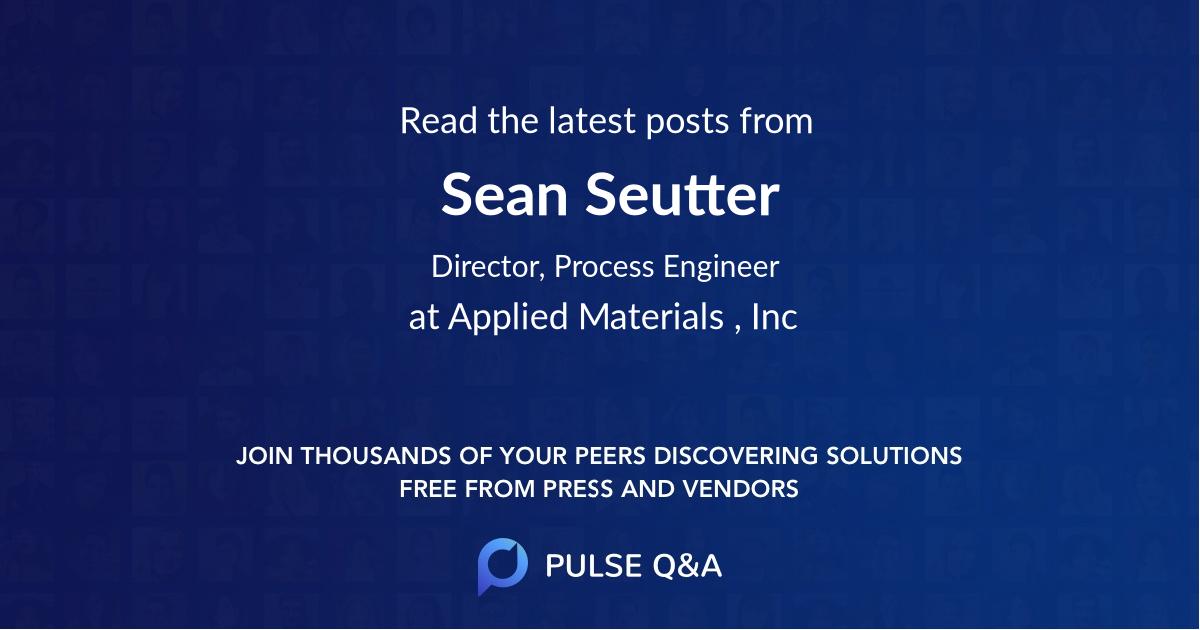 Sean Seutter
