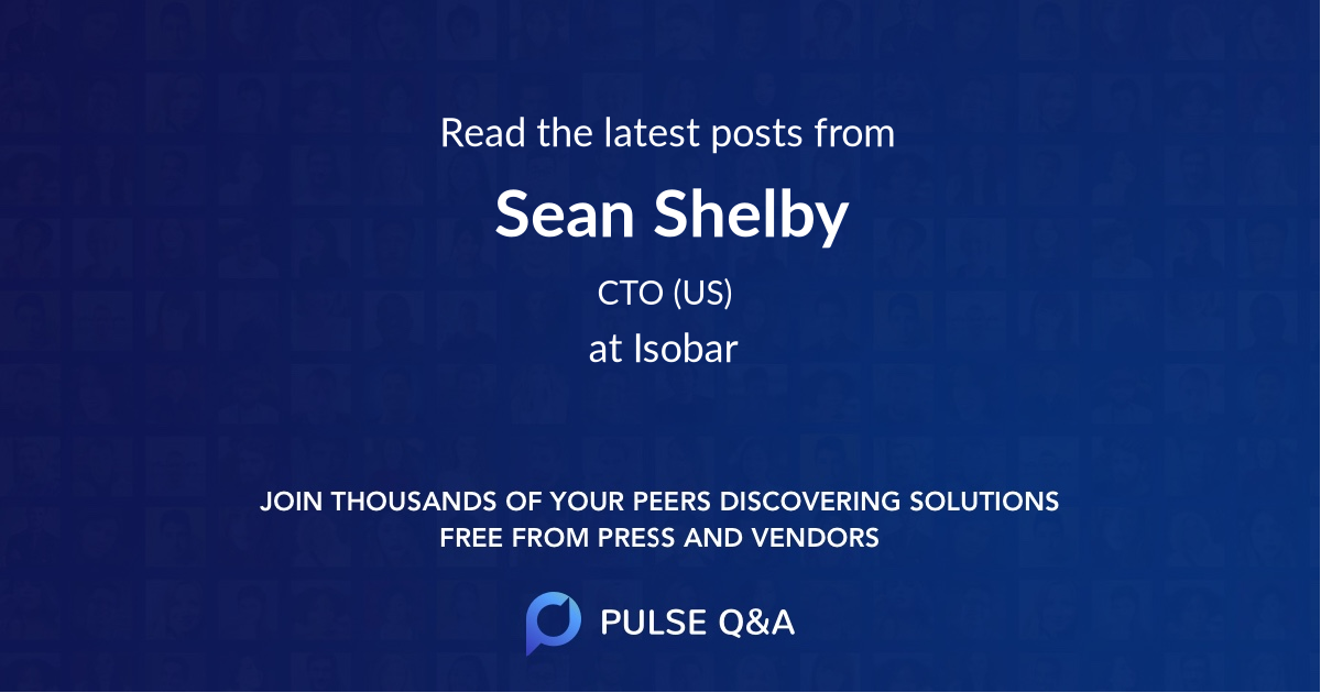 Sean Shelby