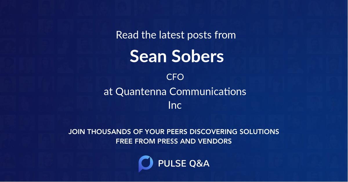Sean Sobers