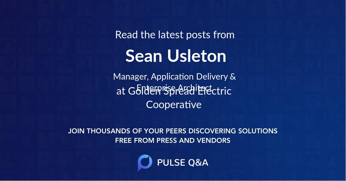 Sean Usleton