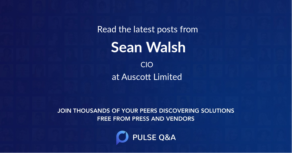 Sean Walsh
