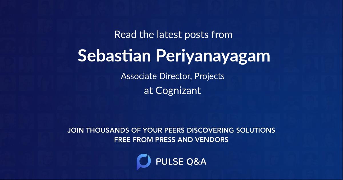 Sebastian Periyanayagam