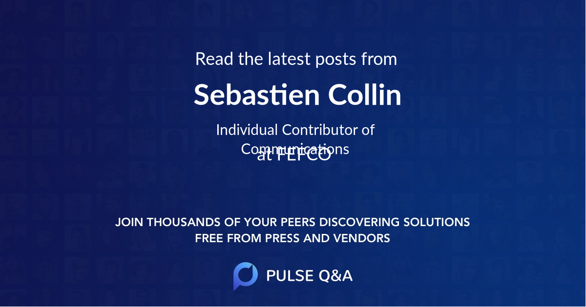 Sebastien Collin