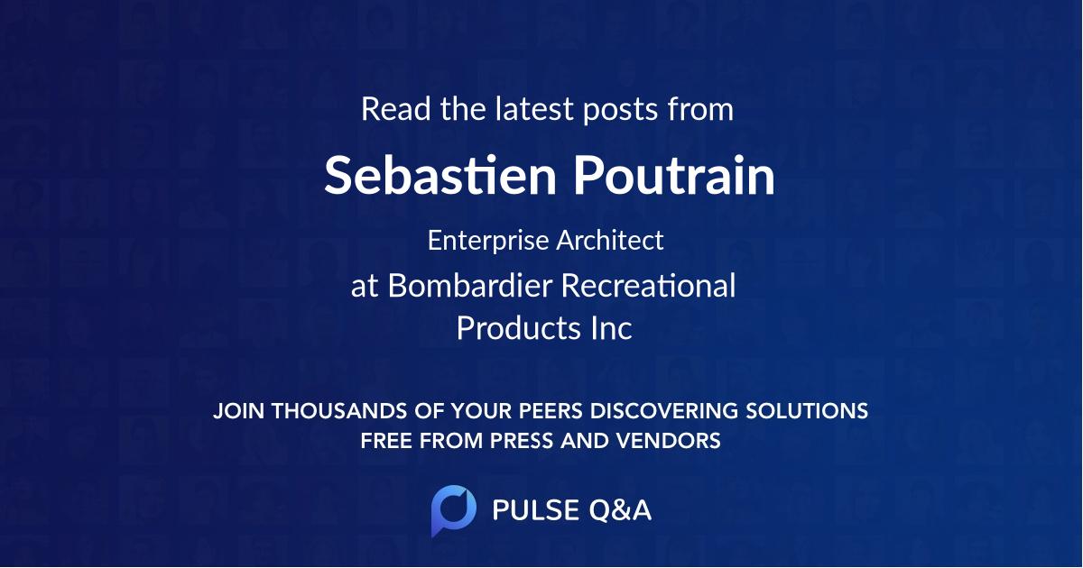 Sebastien Poutrain