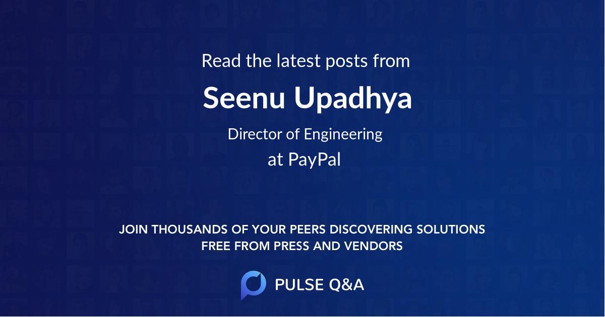 Seenu Upadhya