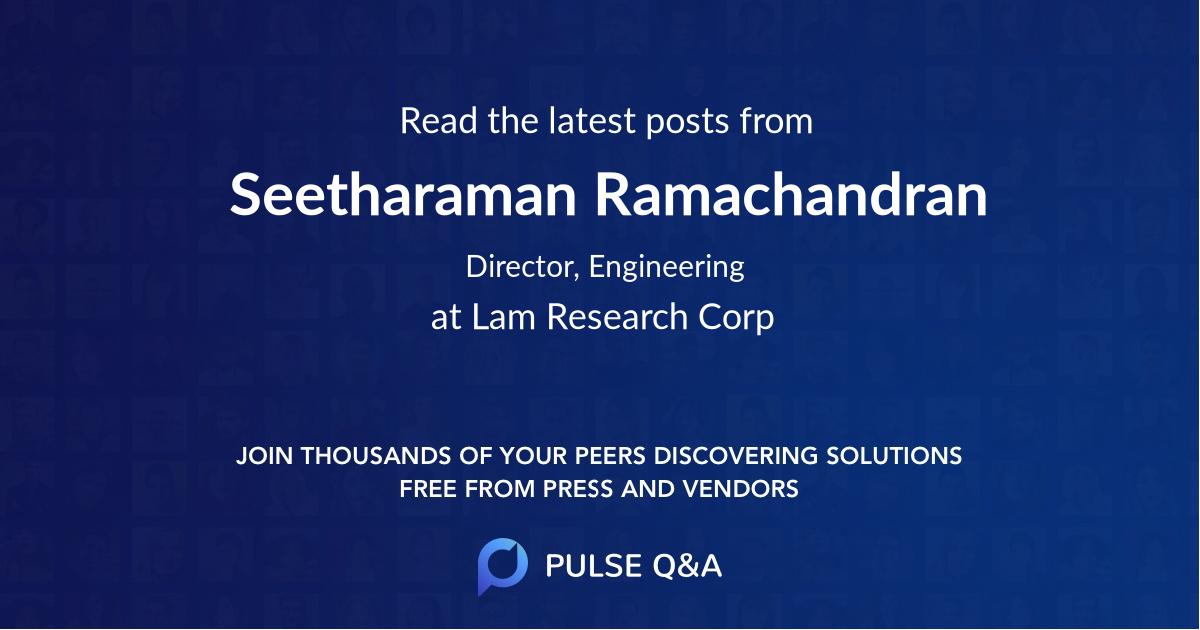 Seetharaman Ramachandran