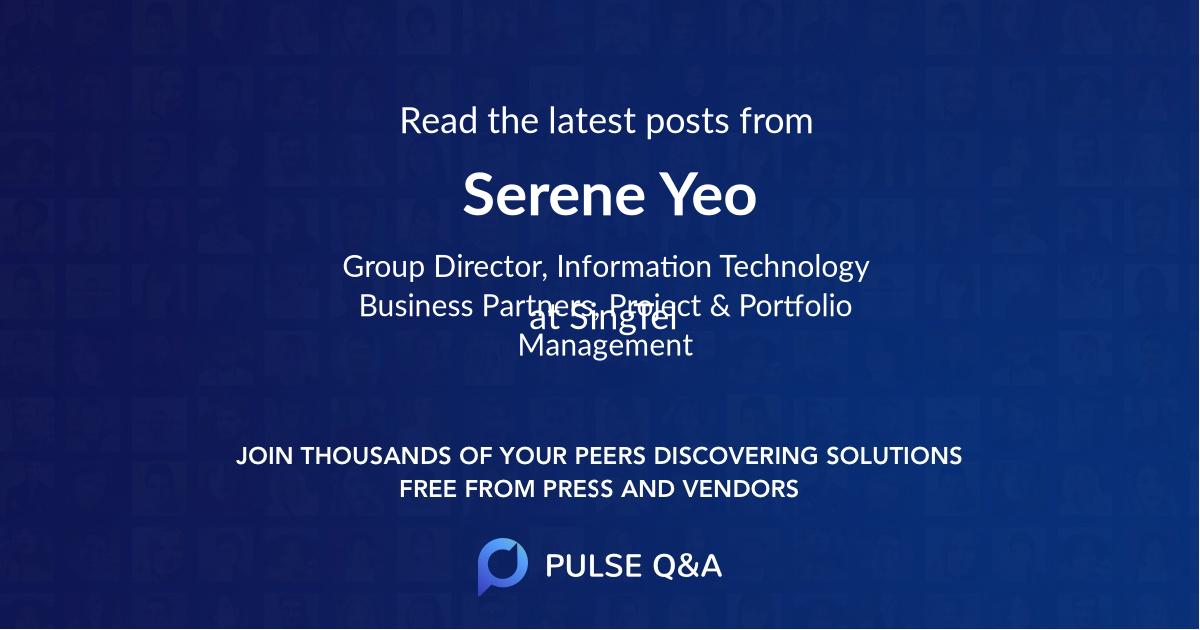 Serene Yeo