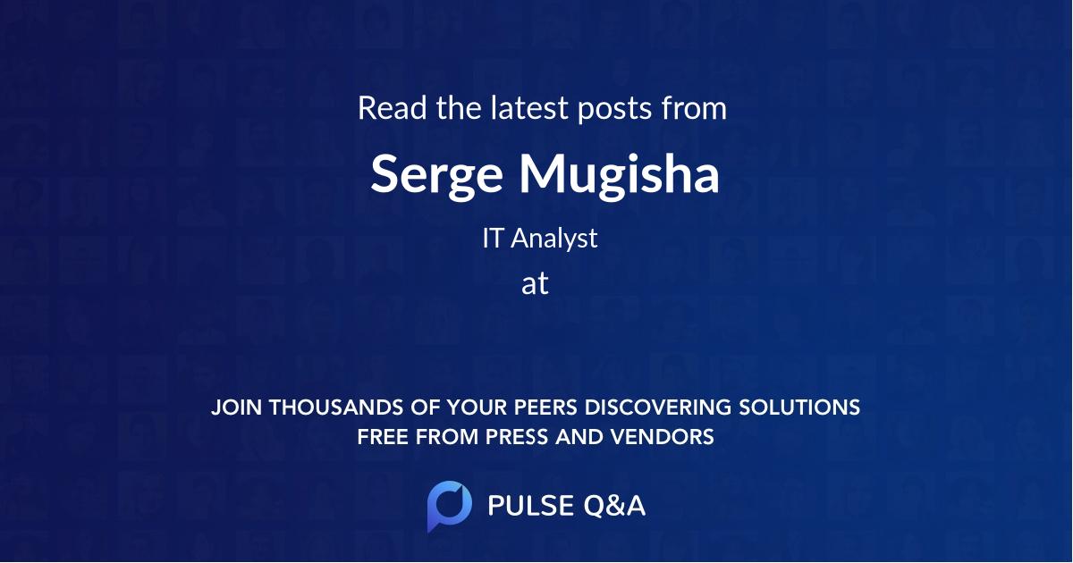 Serge Mugisha
