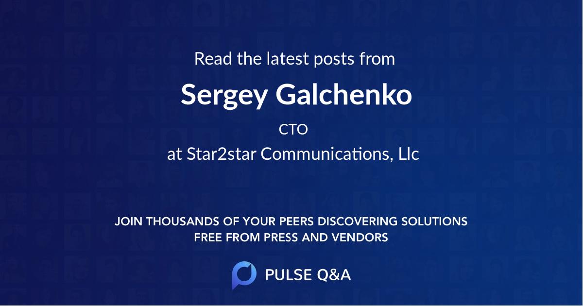 Sergey Galchenko