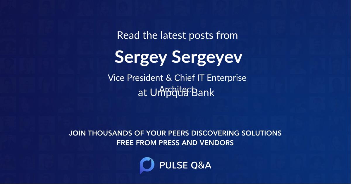 Sergey Sergeyev