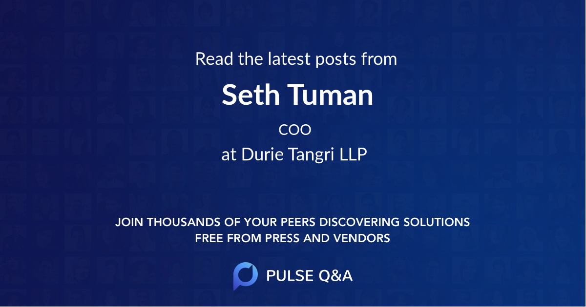 Seth Tuman