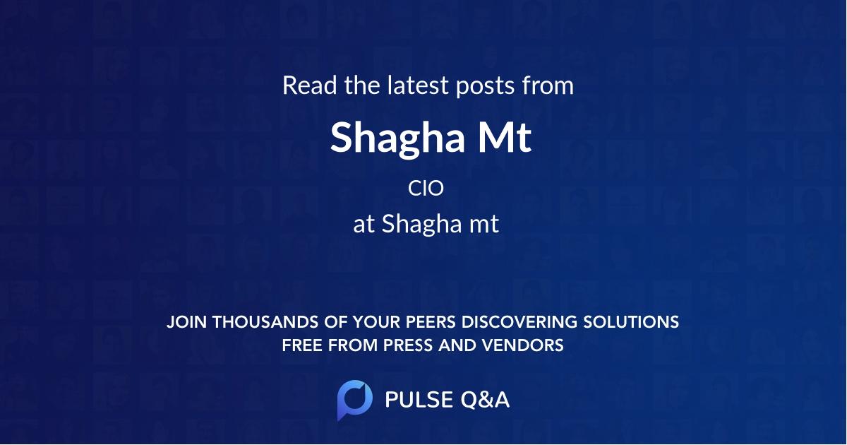 Shagha Mt