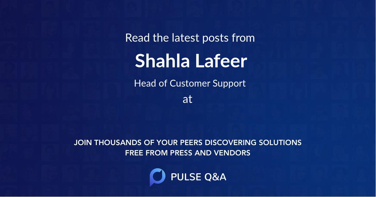 Shahla Lafeer