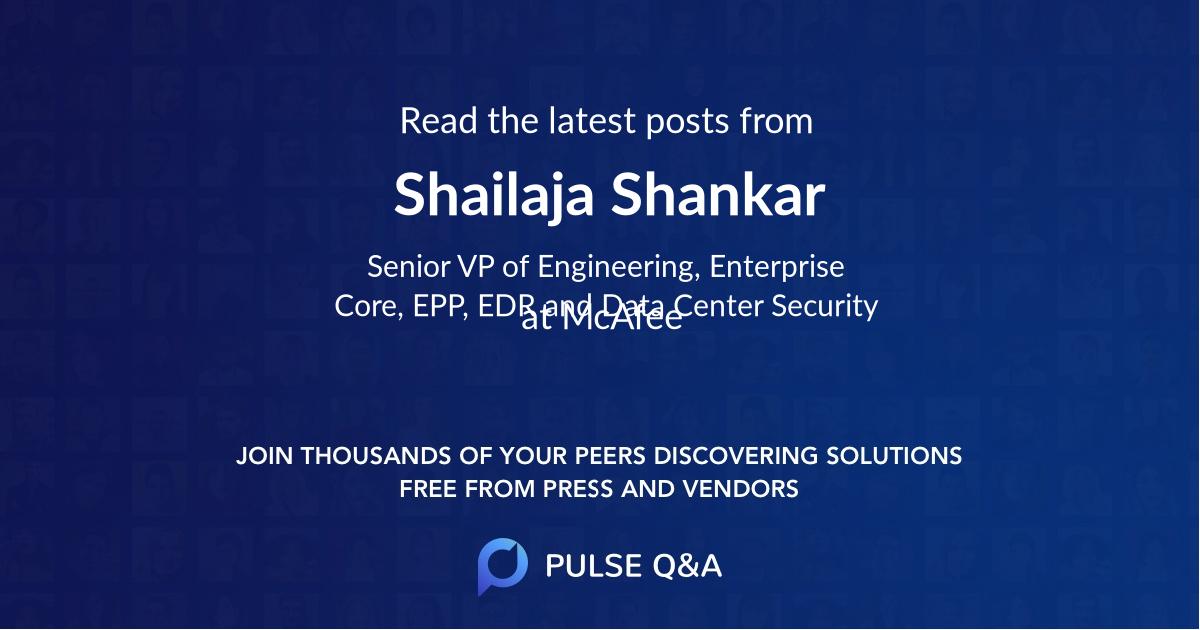 Shailaja Shankar