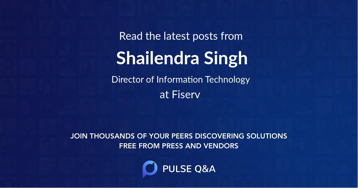 Shailendra Singh