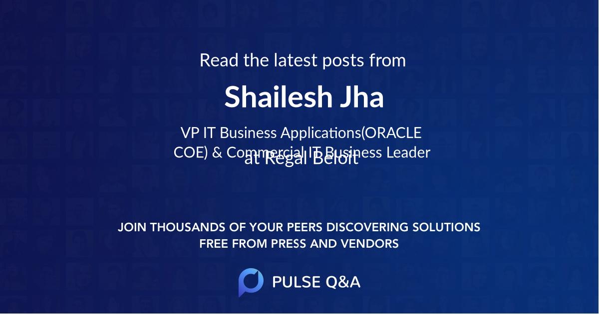 Shailesh Jha